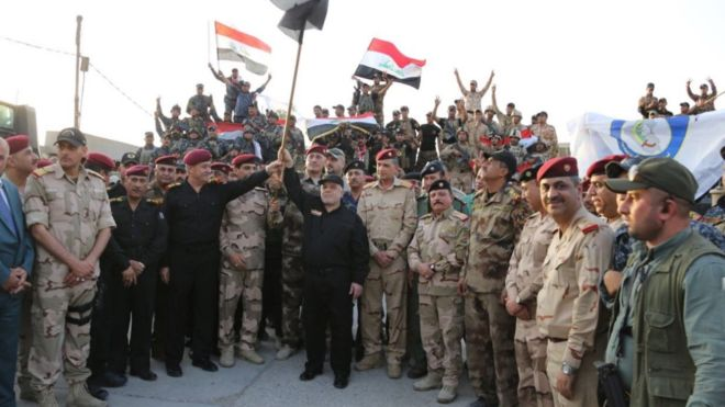 PM Abadi declares Mosul liberated from ISIS in victory speech