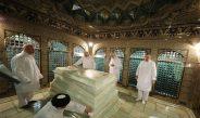 Maraje perform Rezavi Shrine cleaning ritual