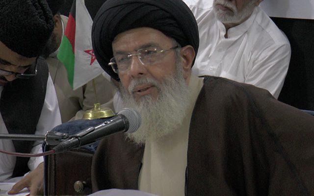 Pakistani Shiites Leader Agha Hamid al-Moosavi