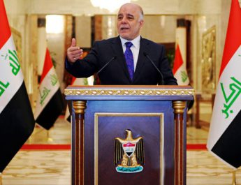 Iraqi Prime Minister, haider al-Abadi