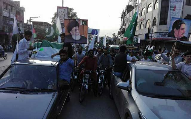 Pak Shias Celebrate Pakistan Independence Day