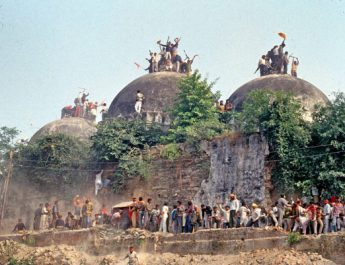 Babri Mosque - Demolishe by Hindu fanatics in 1992