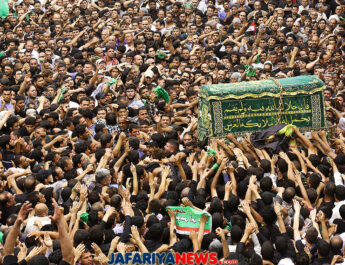 Imam al-Kadhim anniversary in Baghdad