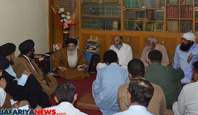 Agha Sayyed Hamid Al-Moosavi, Pakistani Shia Leader