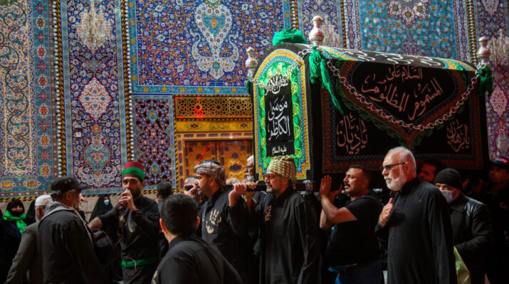 Thousands flock Karbala to mourn Imam al-Kadhim (PBUH)