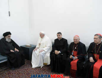 Statement of Sistani's office after historic meeting with Pope